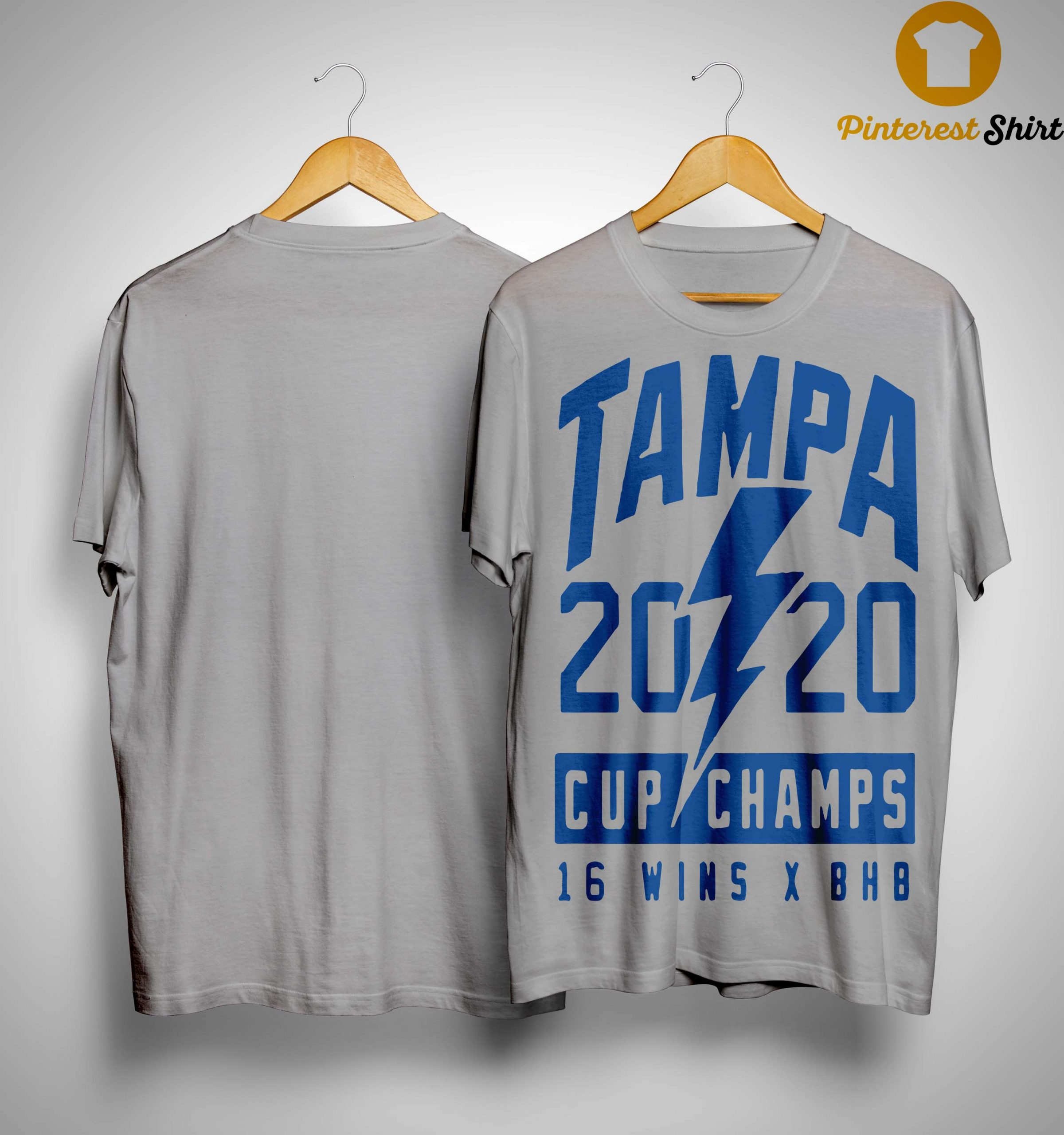 Tampa 2020 Cup Champs 16 Wins X Bhb Shirt