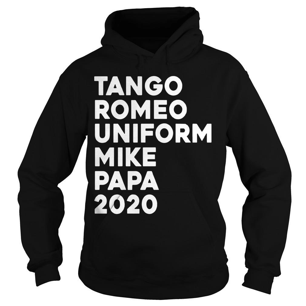 Tango Romeo Uniform Mike Papa 2020 Hoodie