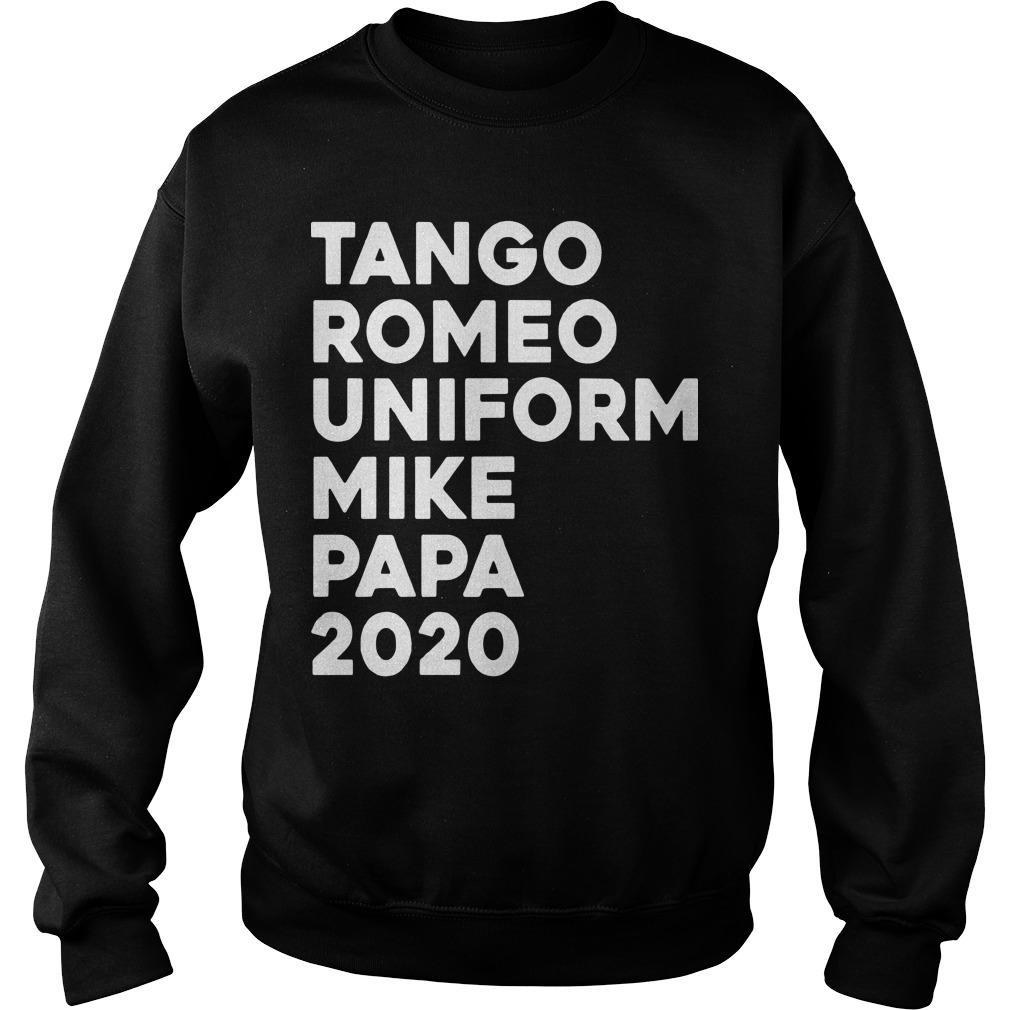Tango Romeo Uniform Mike Papa 2020 Sweater