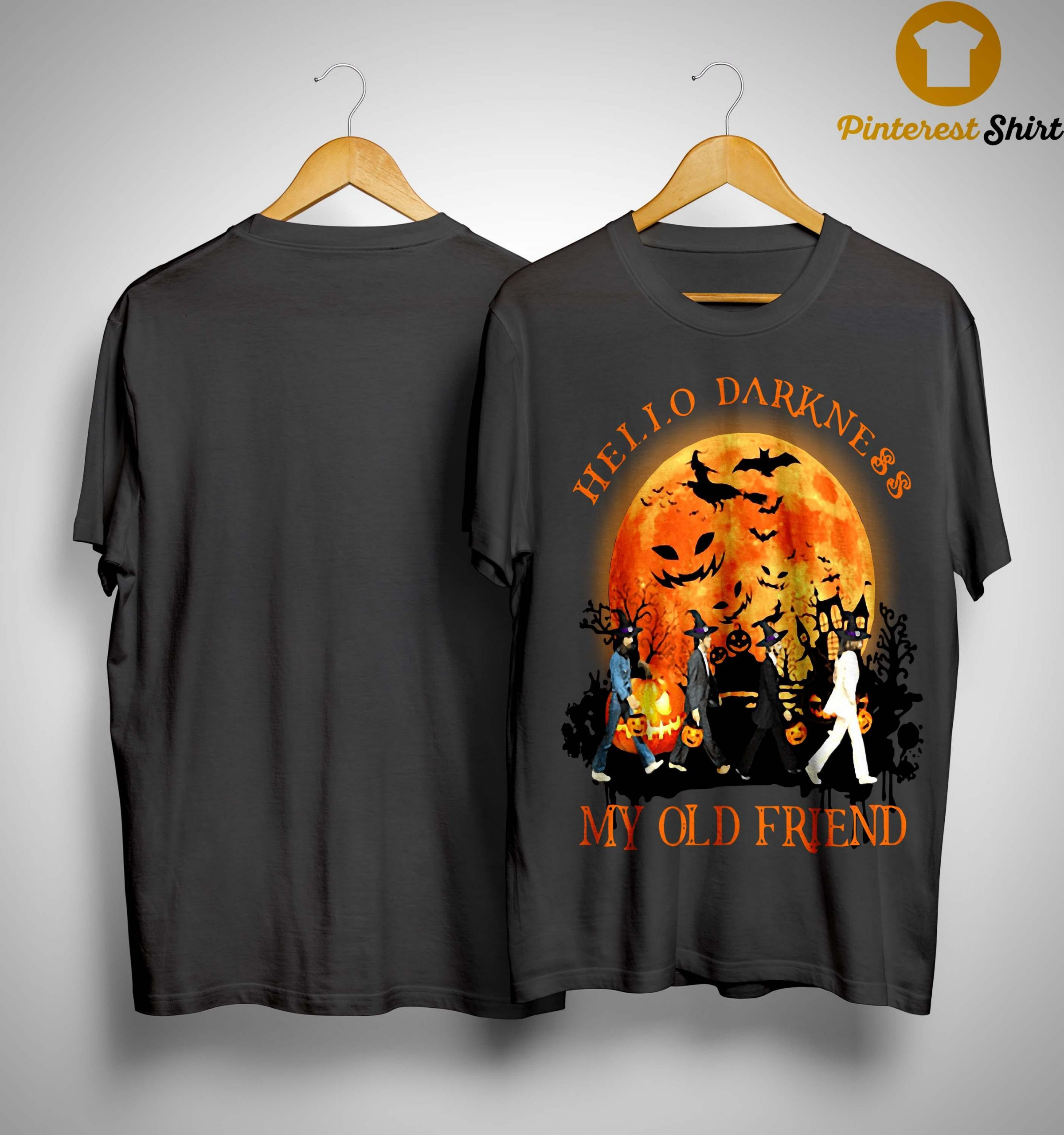 The Beatles Hello Darkness My Old Friends Halloween Shirt