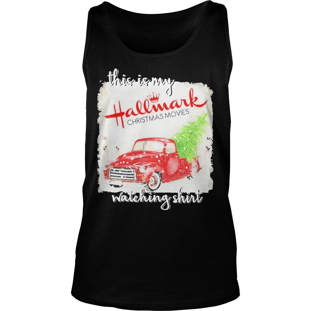 This Is My Hallmark Movie Watching Tank Top