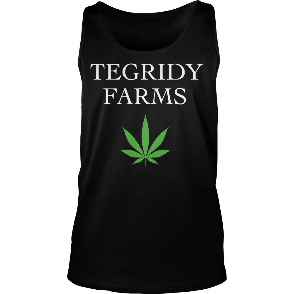Weed Tegridy Farms Tank Top