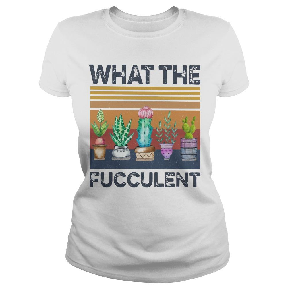 What The Succulent Longsleeve