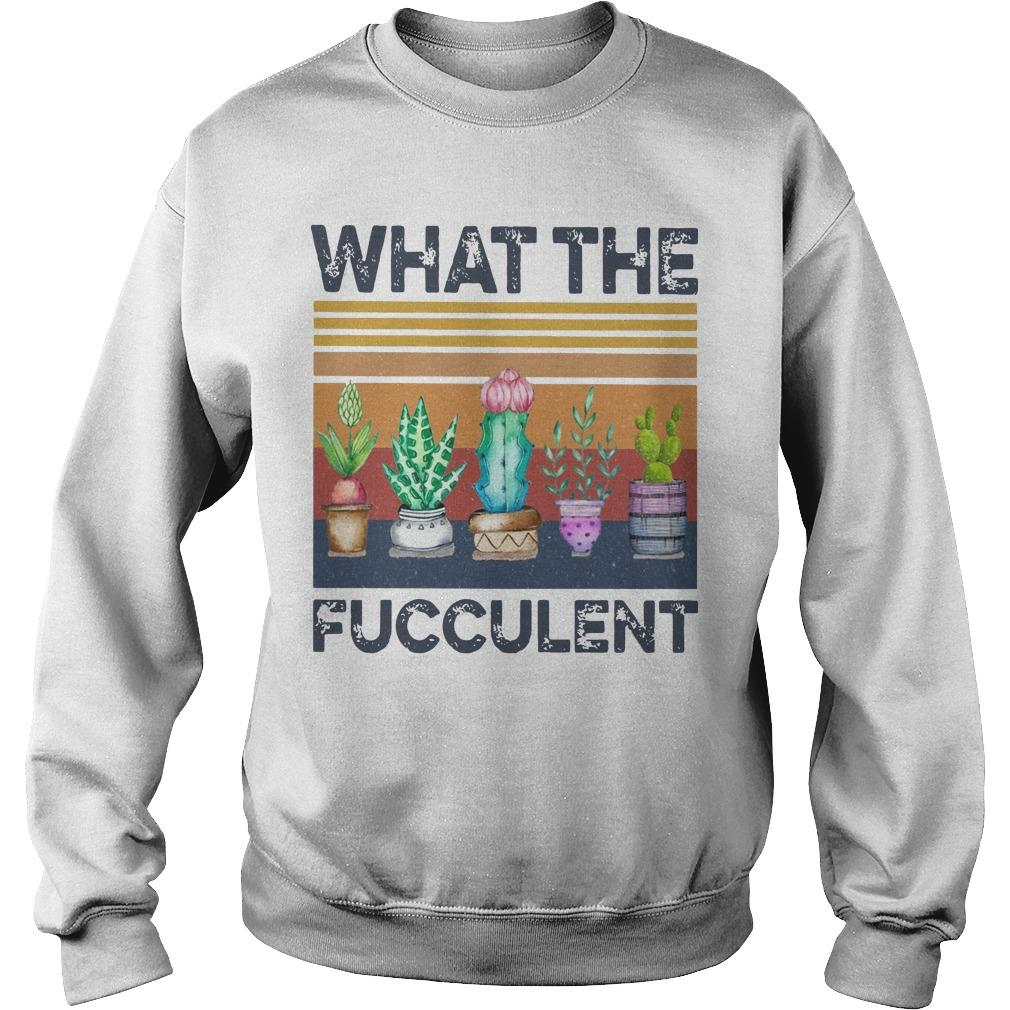 What The Succulent Sweater