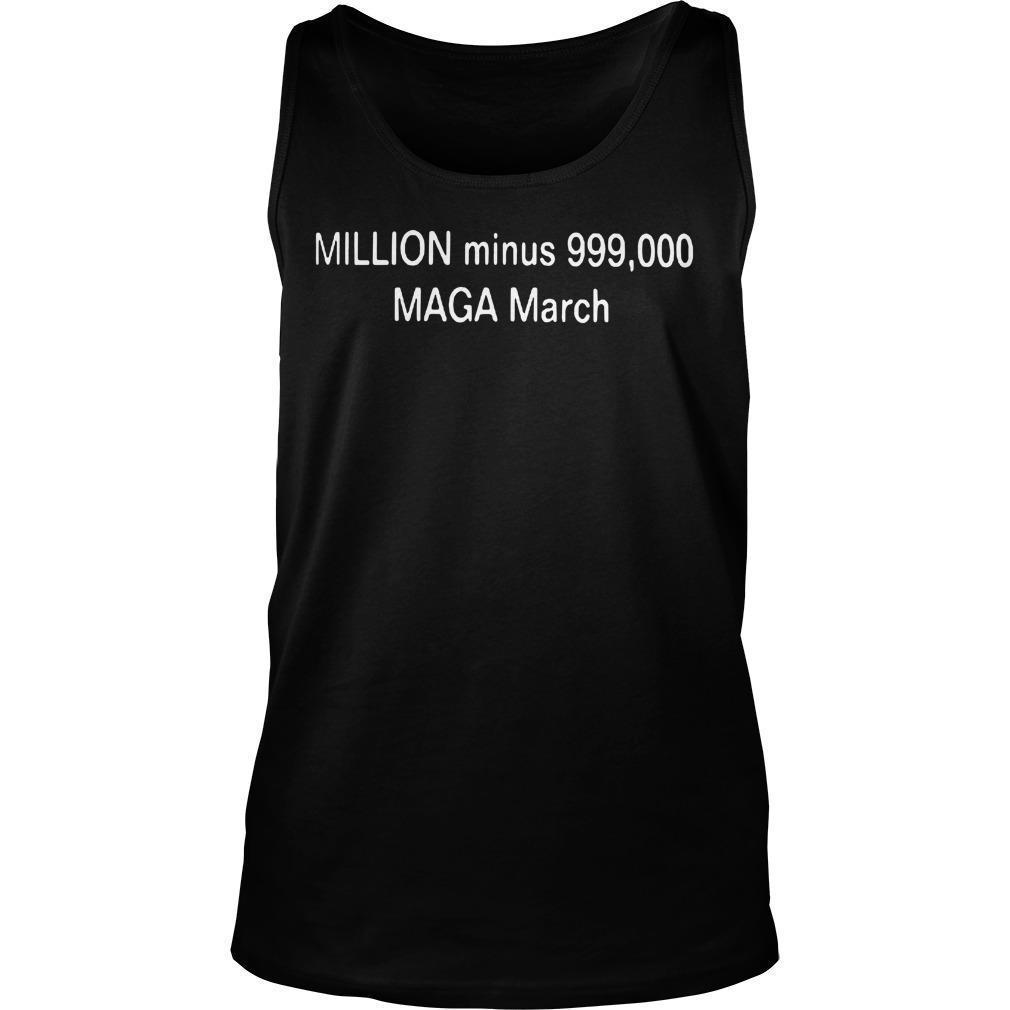 Lizz Winstead Million Minus 999000 Maga March Tank Top