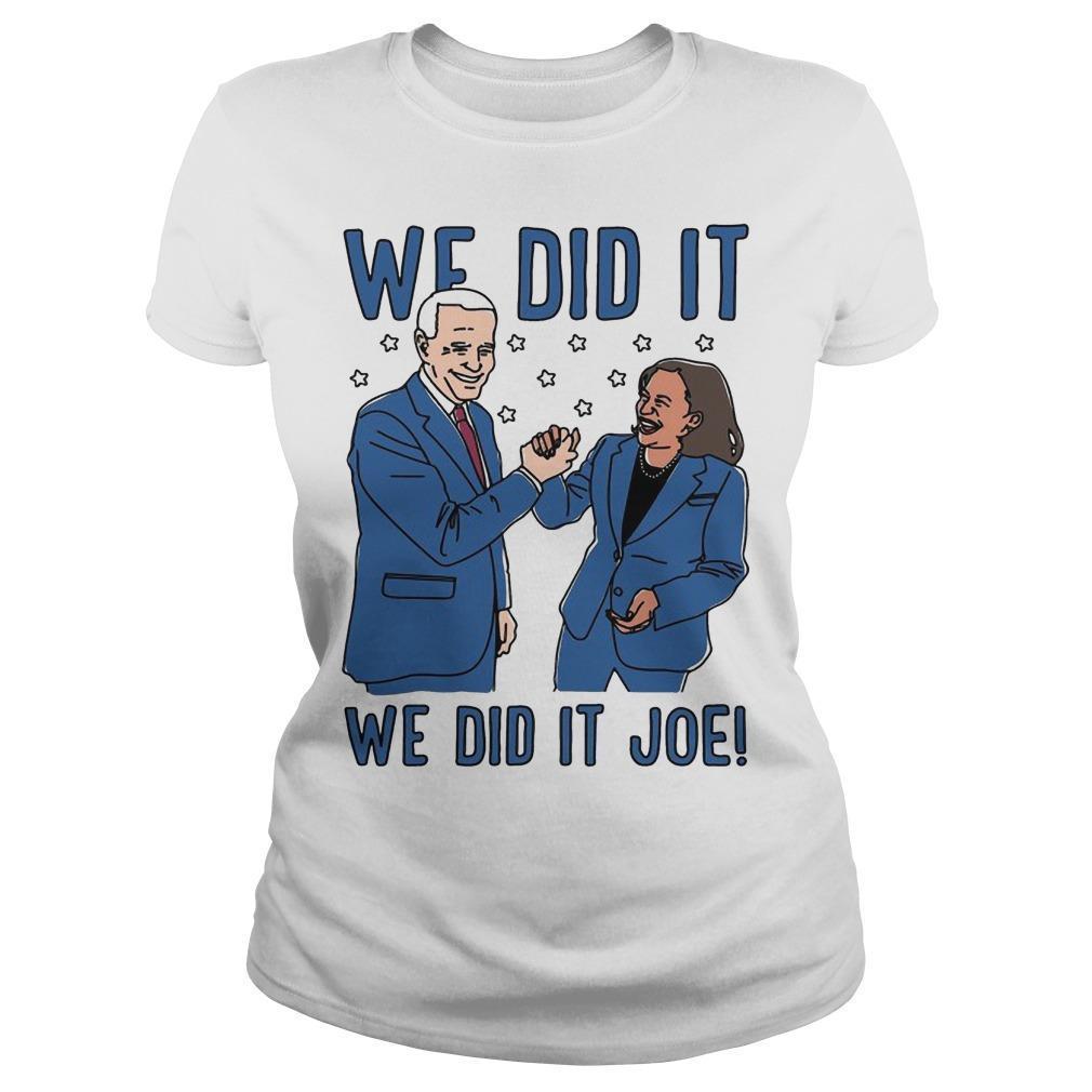 The Advocate Biden Harris We Did It Joe Longsleeve