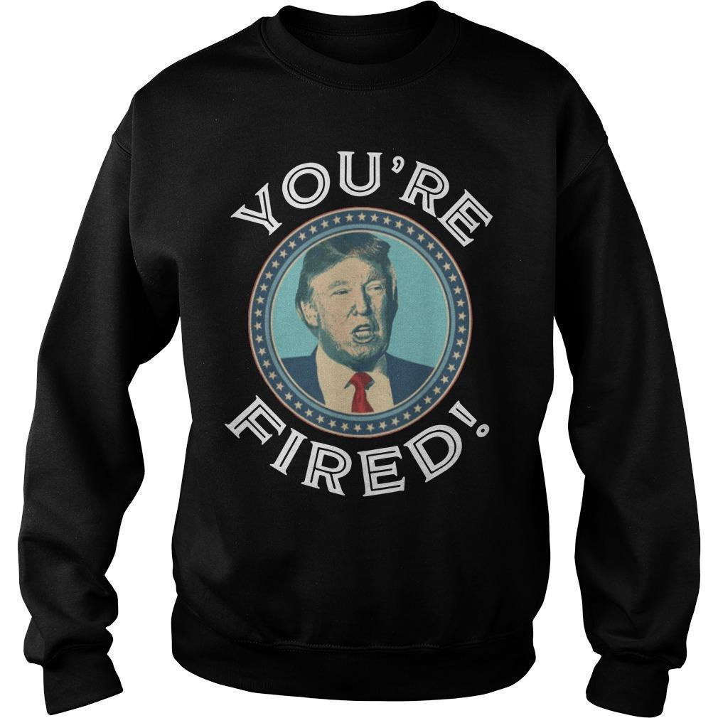 Trump You're Fired Sweater