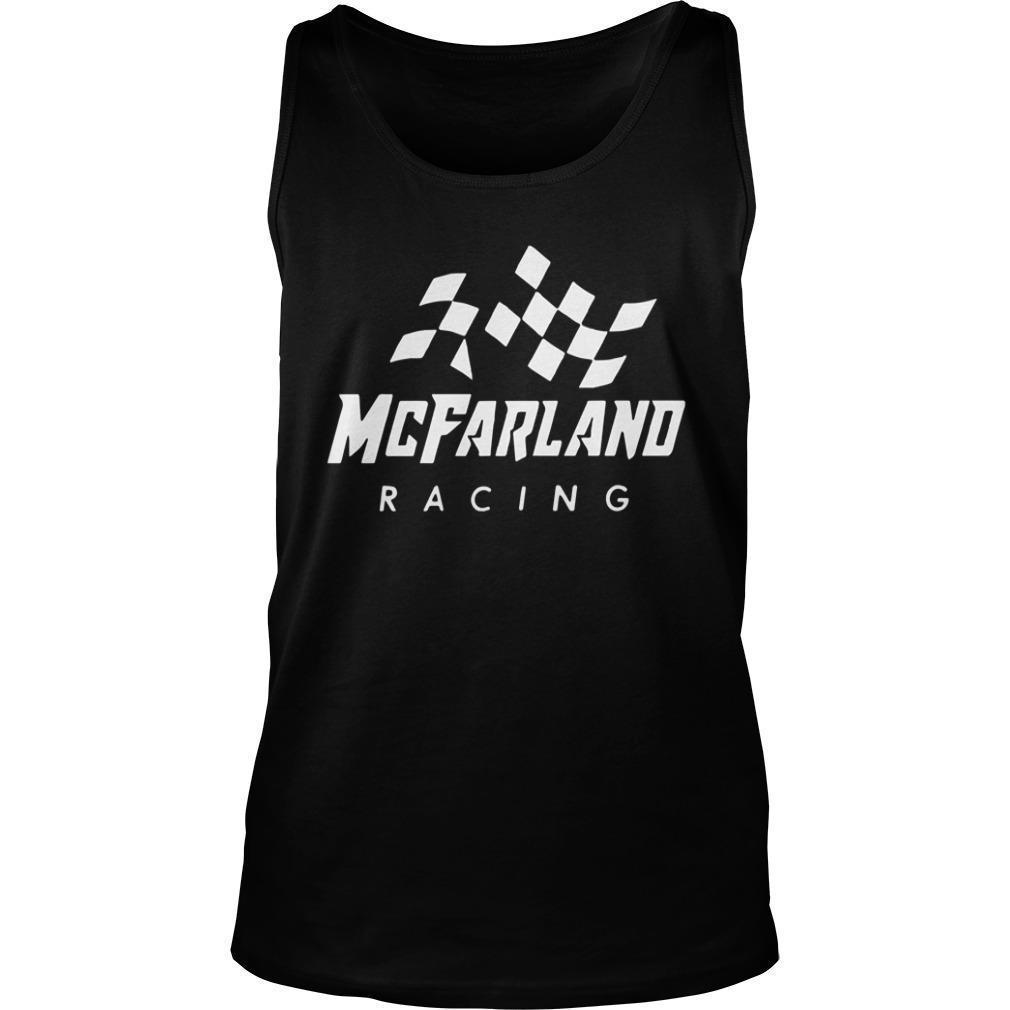 Cleetus Mcfarland Racing Tank Top