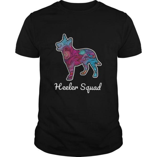 Australian Cattle Heeler Squad Shirt