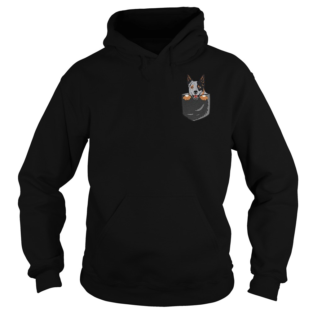 Australian Cattle In The Pocket Hoodie