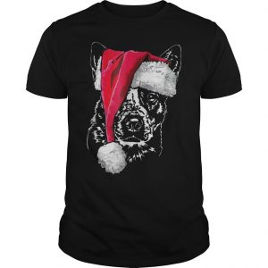 Australian Cattle Santa Shirt