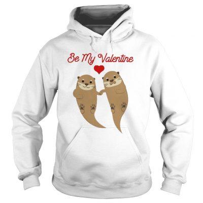 Beaver Be My Valentine Kid Hoodie