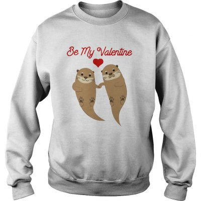 Beaver Be My Valentine Kid Sweater