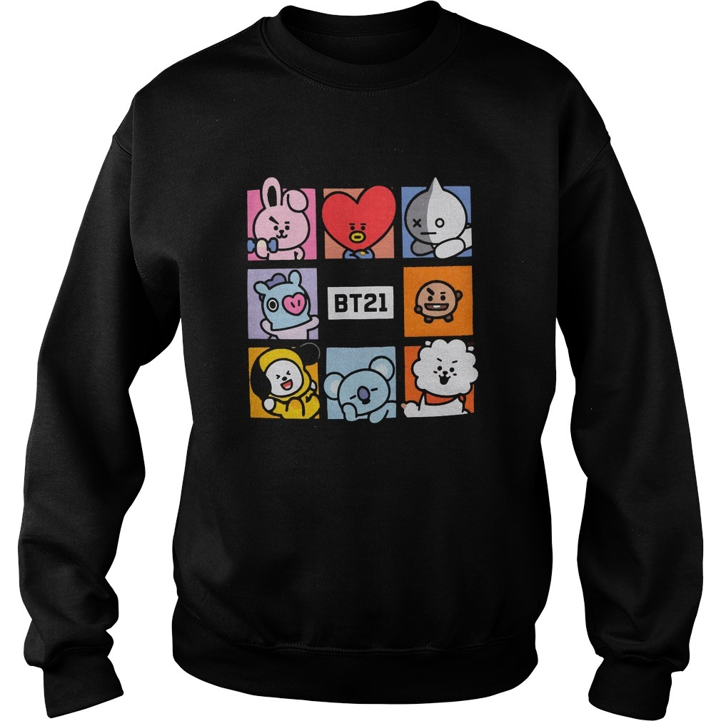 Cameron Philip Bt21 Squares Sweater