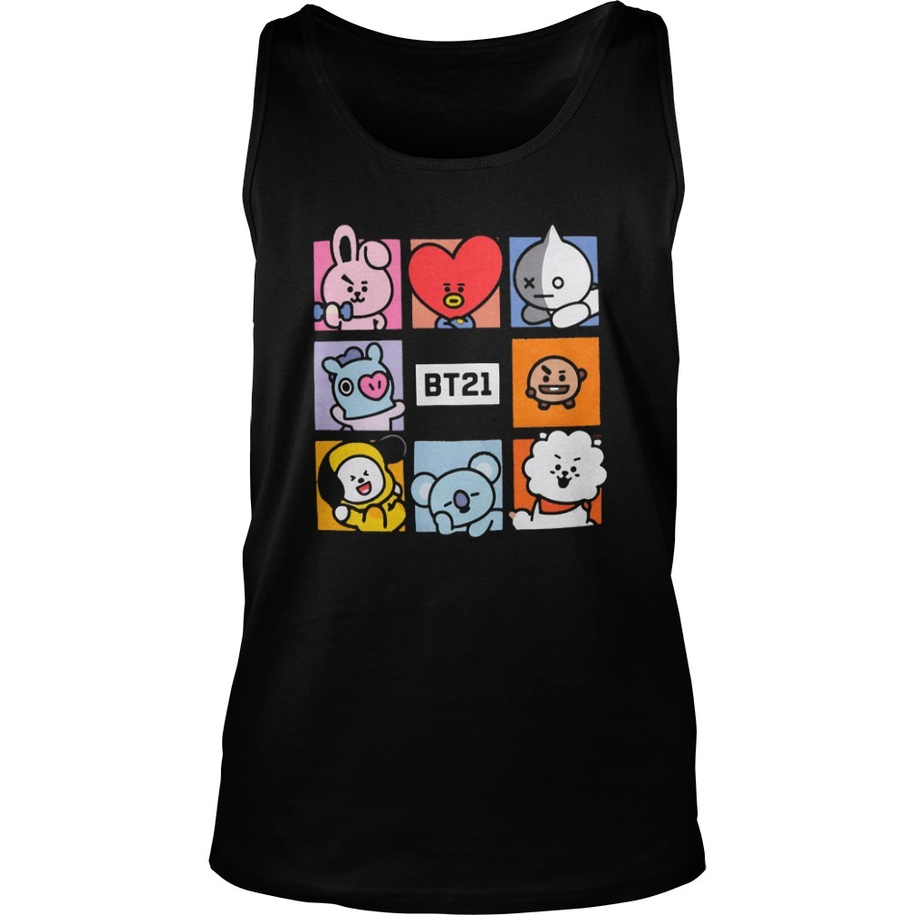 Cameron Philip Bt21 Squares Tank Top