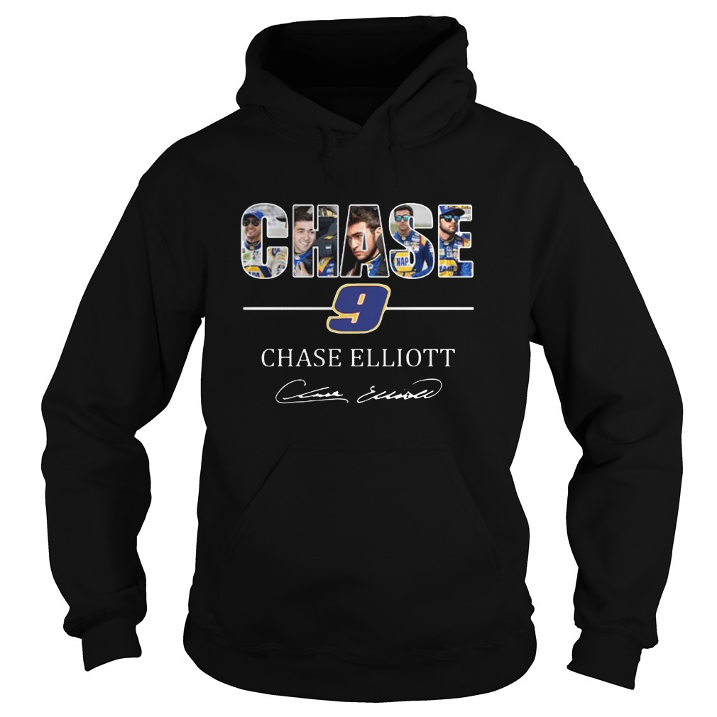 Chase 9 Chase Elliott Sign Hoodie