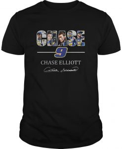 Chase 9 Chase Elliott Sign Shirt
