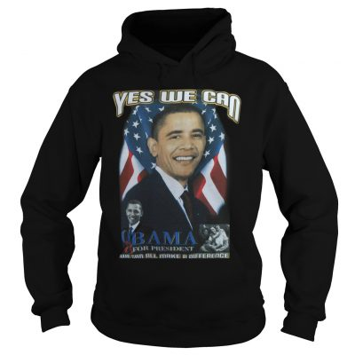 Cindy Hounduran Obama Yes We Can Hoodie