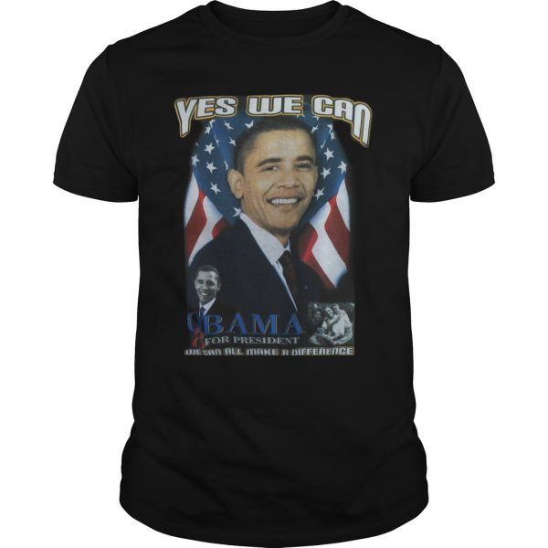 Cindy Hounduran Obama Yes We Can Shirt