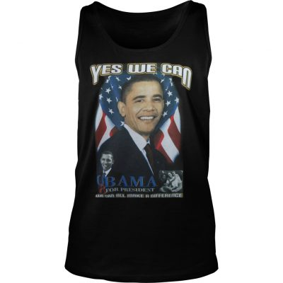 Cindy Hounduran Obama Yes We Can Tank Top