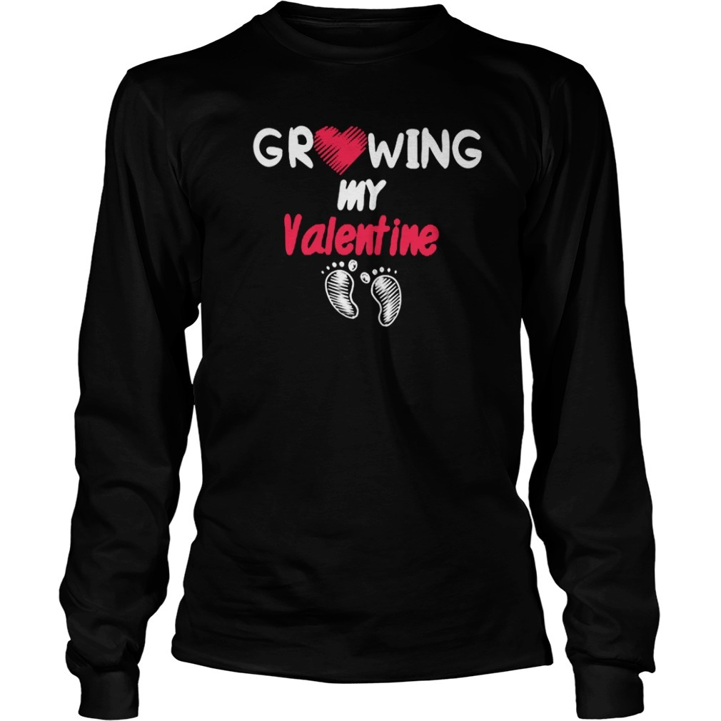 Growing My Valentine Classic Longsleeve Tee