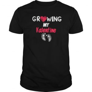 Growing My Valentine Classic Shirt
