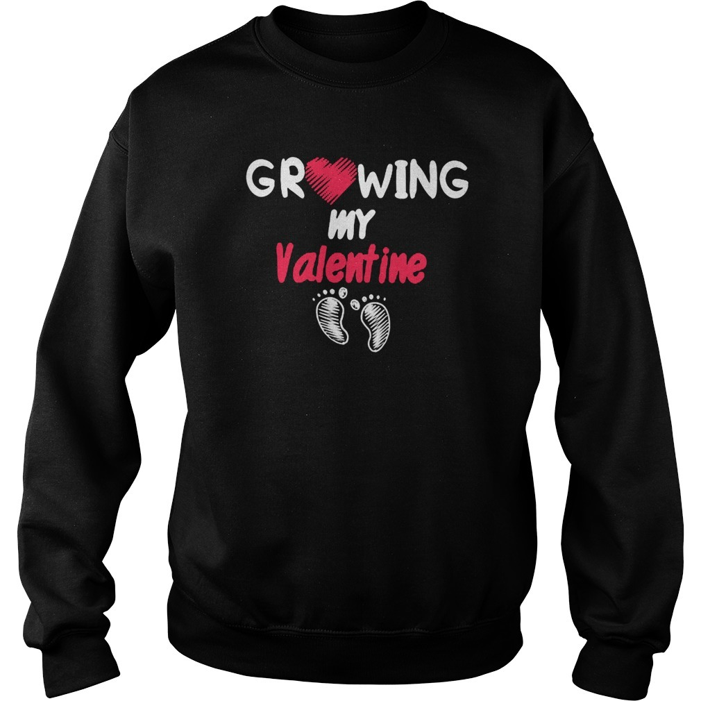 Growing My Valentine Classic Sweater