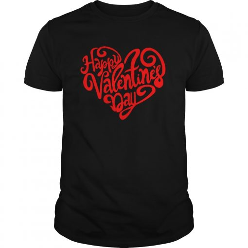 Happy Valentine's Day Heart Shirts