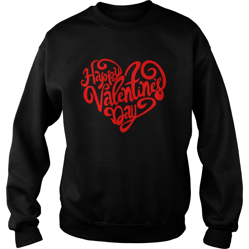 Happy Valentine's Day Heart Sweater