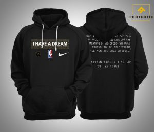 I Have A Dream Performance NBA MLK Hoodie