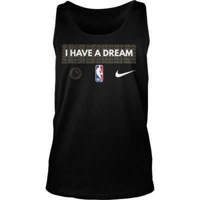 I Have A Dream Performance NBA MLK Tank Top