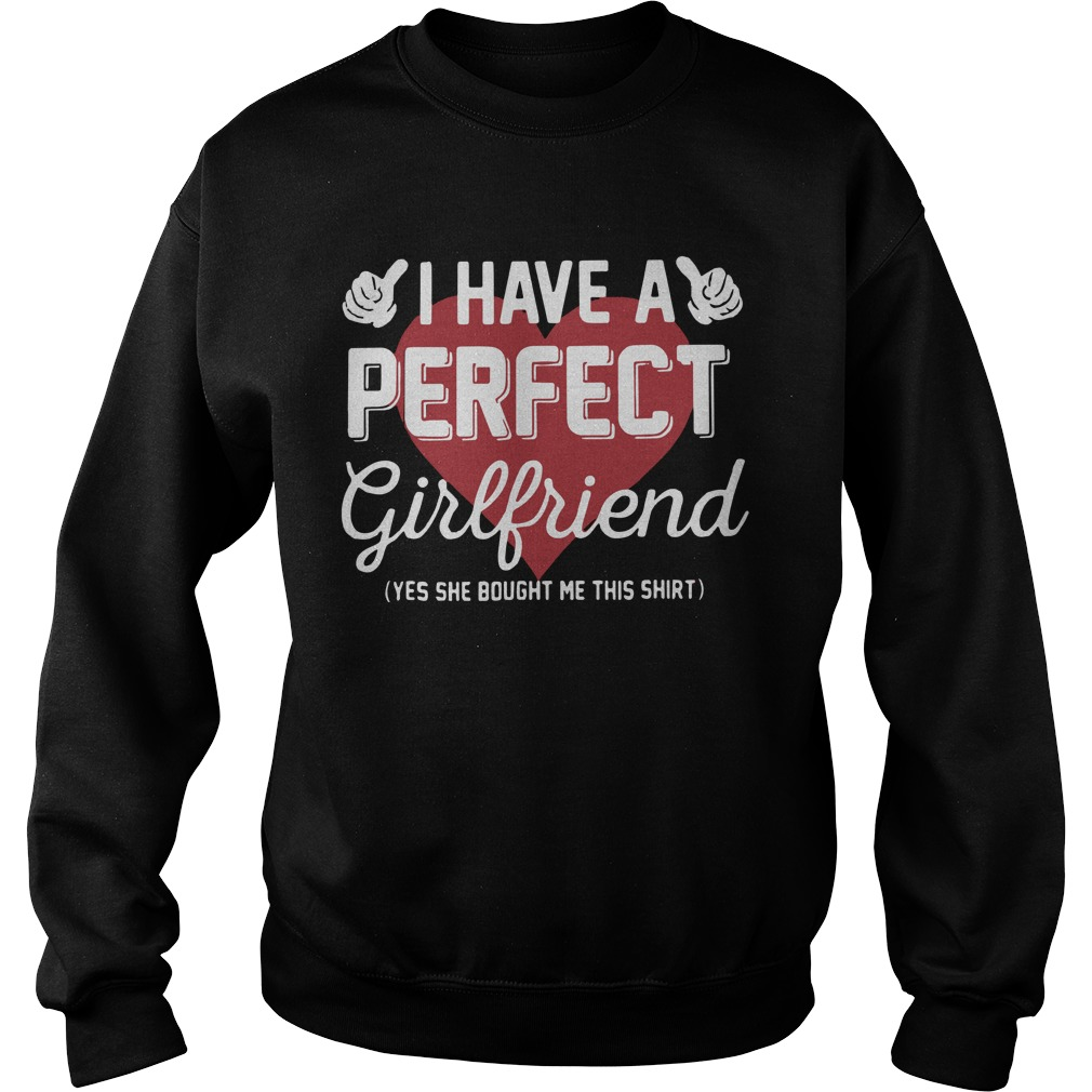 I Have Perfect Girlfriend Sweater