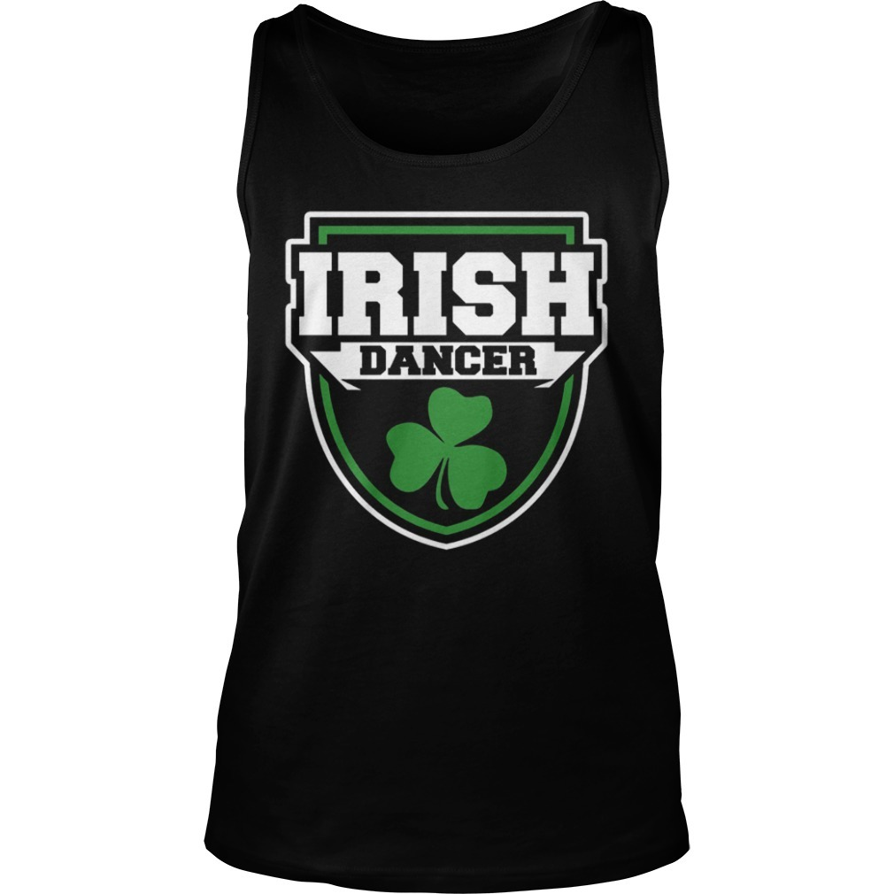 Irish Dance Badge Tank Top
