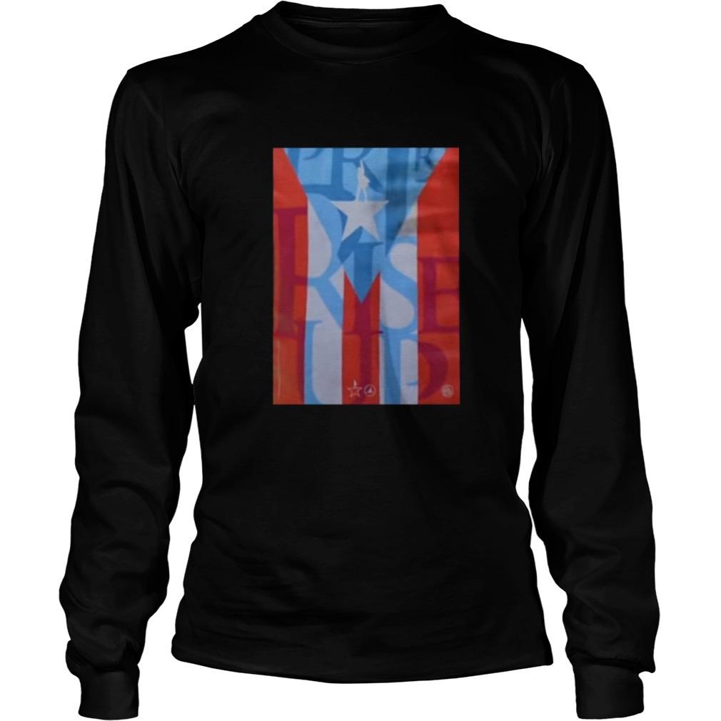 Lin-Manuel Miranda Hamilton Puerto Rico Longsleeve Tee