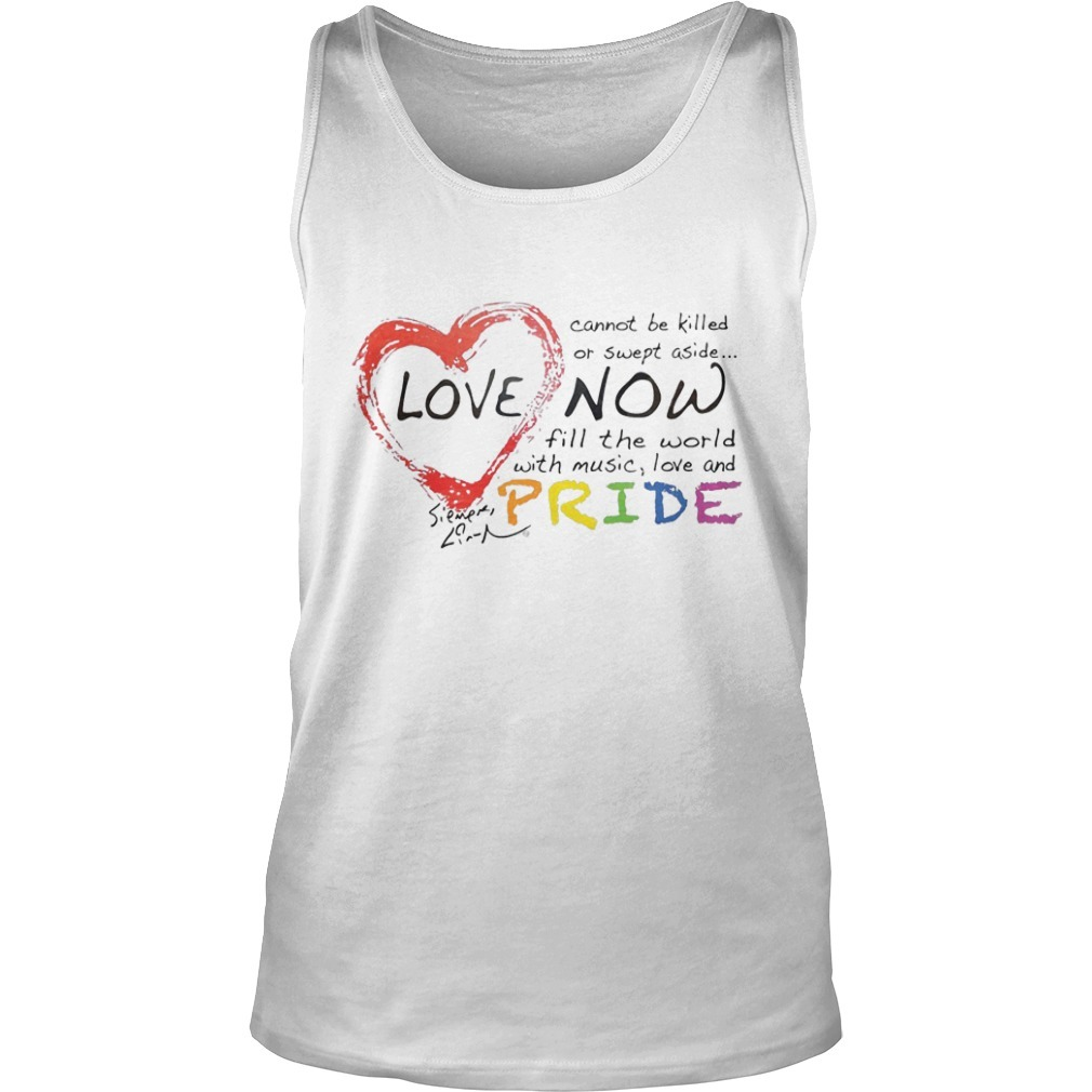 Lin-manuel Miranda Love Cannot Be Killed Or Swept Aside Now Fill The World With Music Love And Pride Tank TopLin-manuel Miranda Love Cannot Be Killed Or Swept Aside Now Fill The World With Music Love And Pride Tank Top