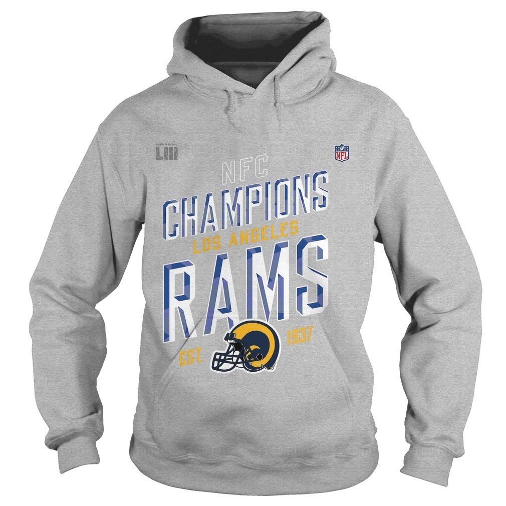 Los Angeles Rams NFC Champions 2018 Hoodie