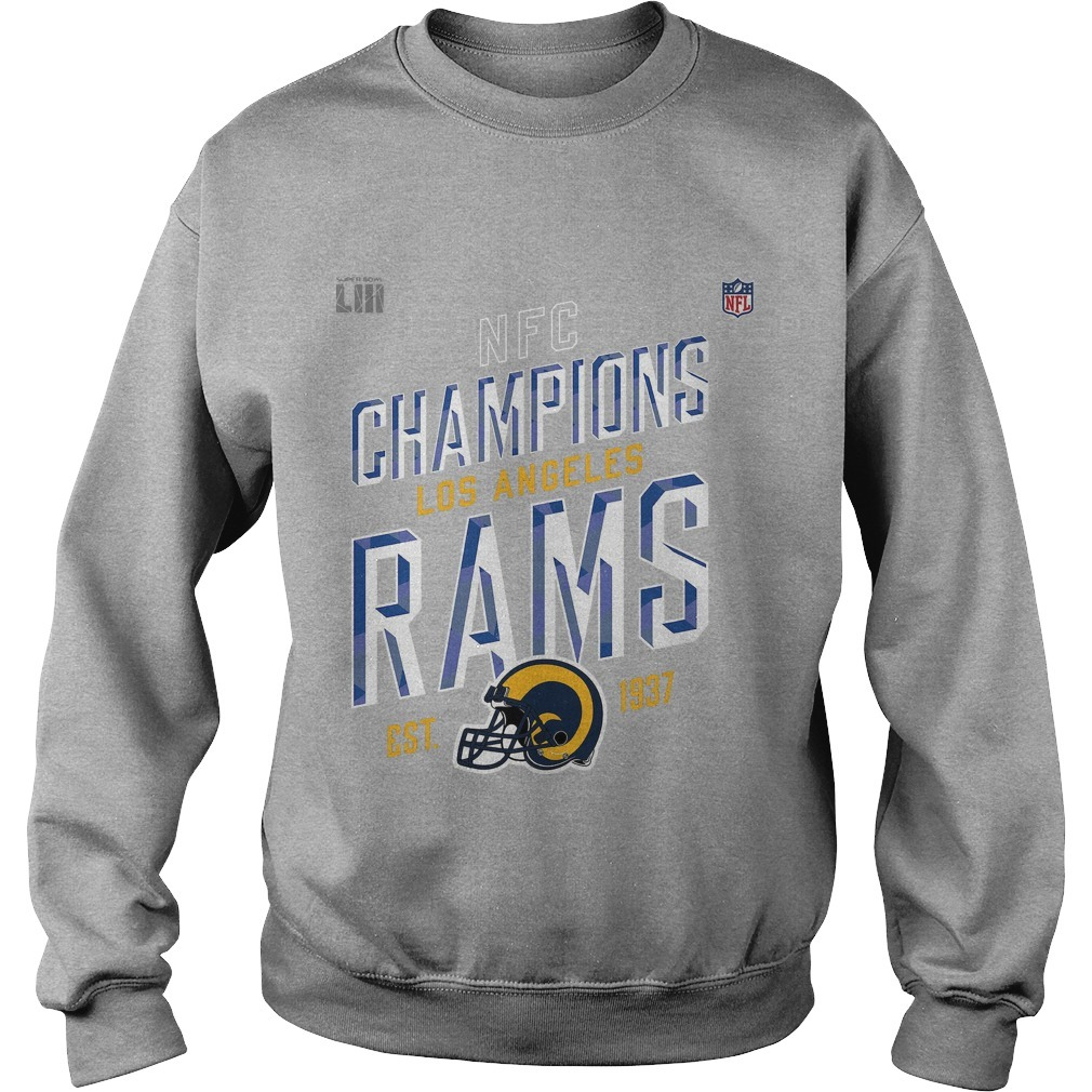 Los Angeles Rams NFC Champions 2018 Sweater
