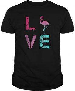 Pink Flamingos Valentine Shirt