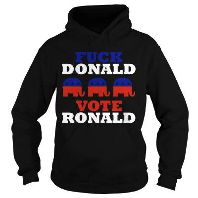 Ronnie Radke Fuck Donald Vote Ronald Hôdie