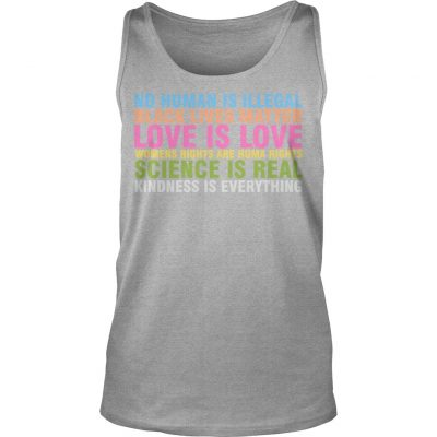 Sarah Silverman No Human Is Illegal Black Lives Matter Love Is Love Tank Top