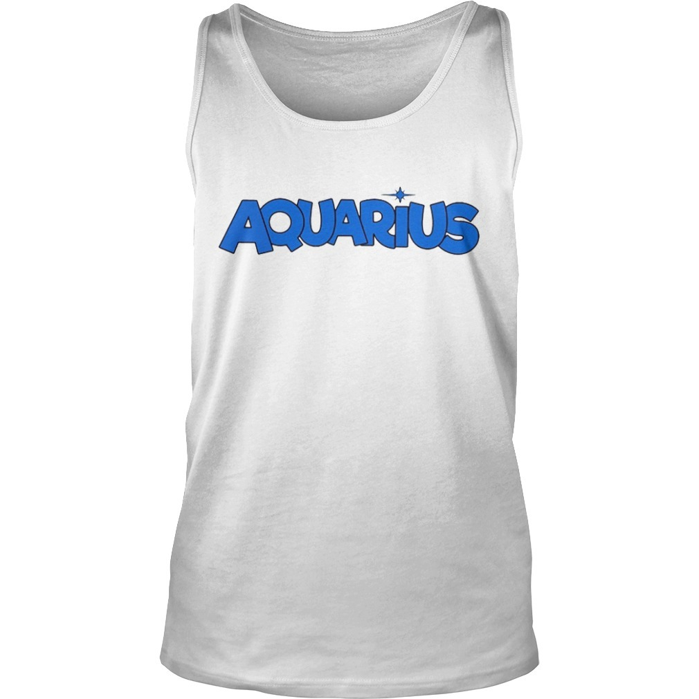 Aquarius Szn Tina Snow Tank Top