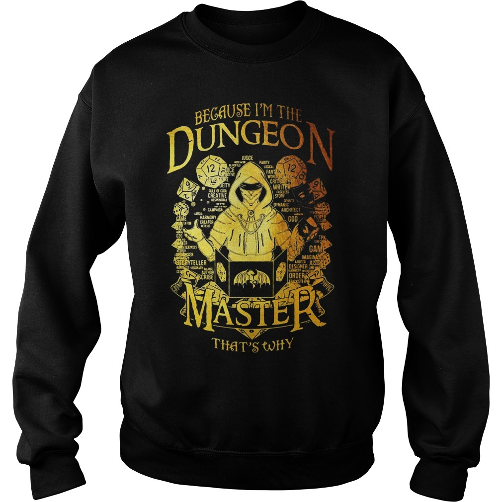Because I'm The Dungeon Master That's Why Sweater
