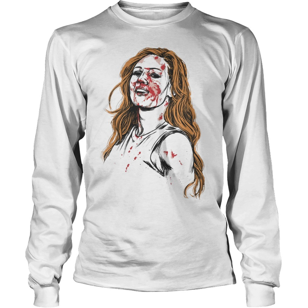 Becky Lynch The Man Longsleeve Tee