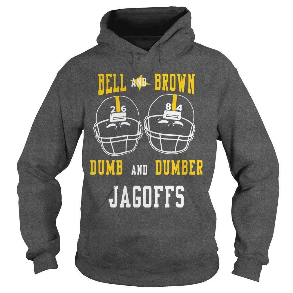 Bell And Brown Dumb And Dumber Jagoffs Hoodie