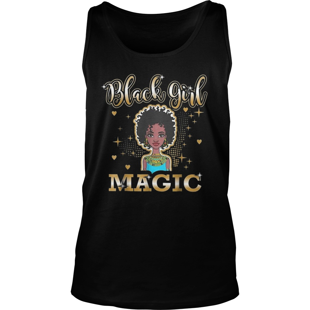 Black Girl Magic African Black History Month Tank Top