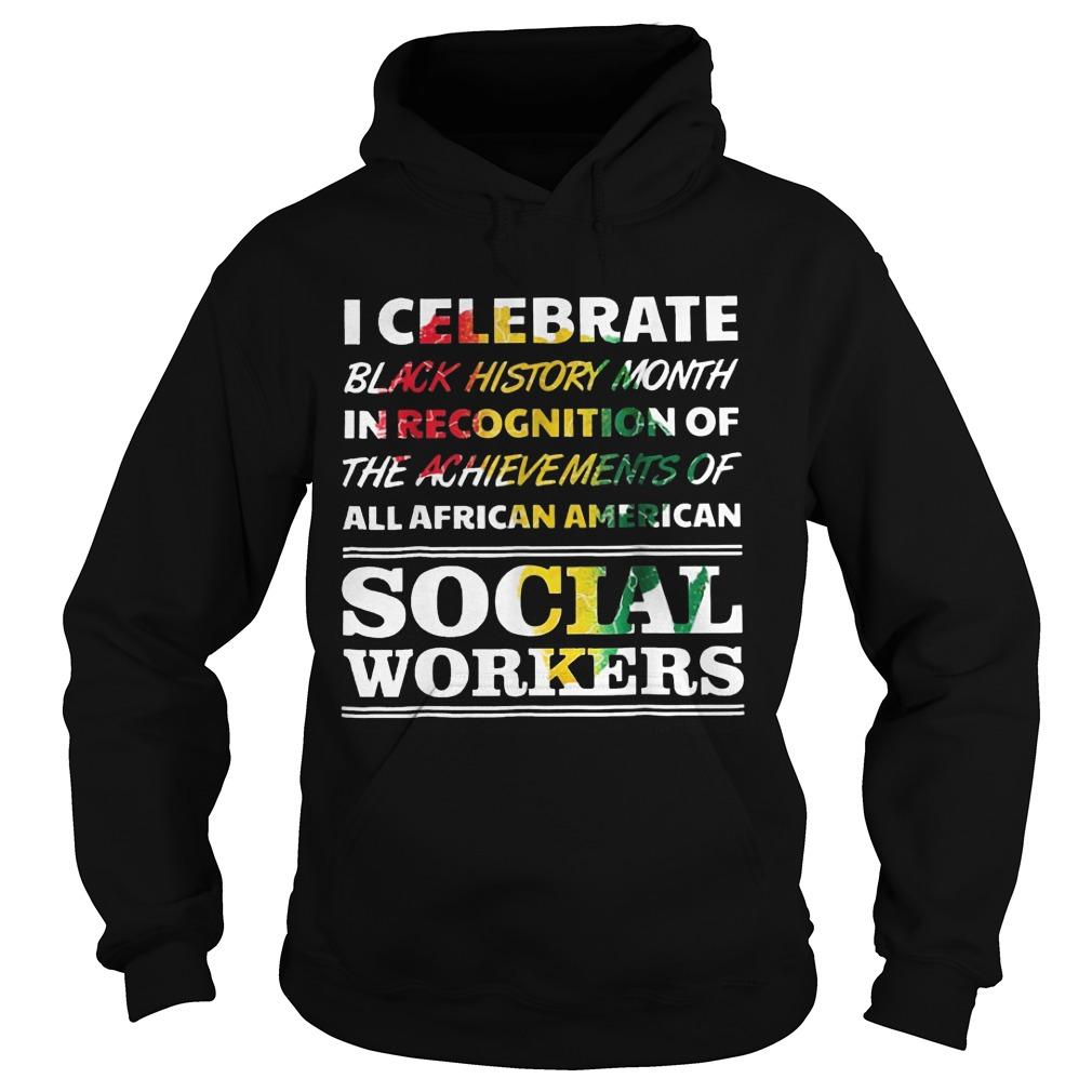 Black History Month Social Workers Hoodie