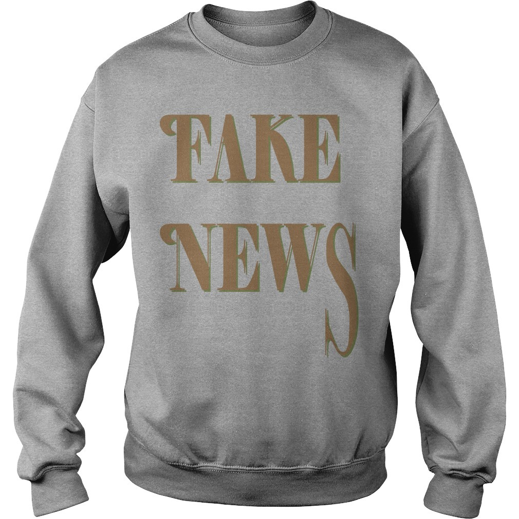 Bloomingdale Fake News Sweater