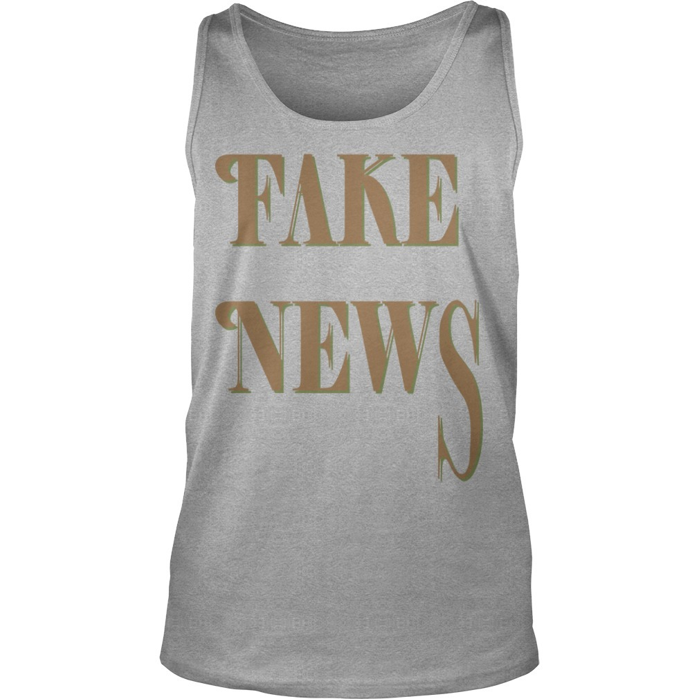 Bloomingdale Fake News Tank Top