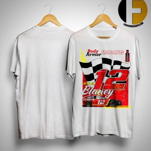 Body Armor Racing Ryan Blaney 12 Shirt