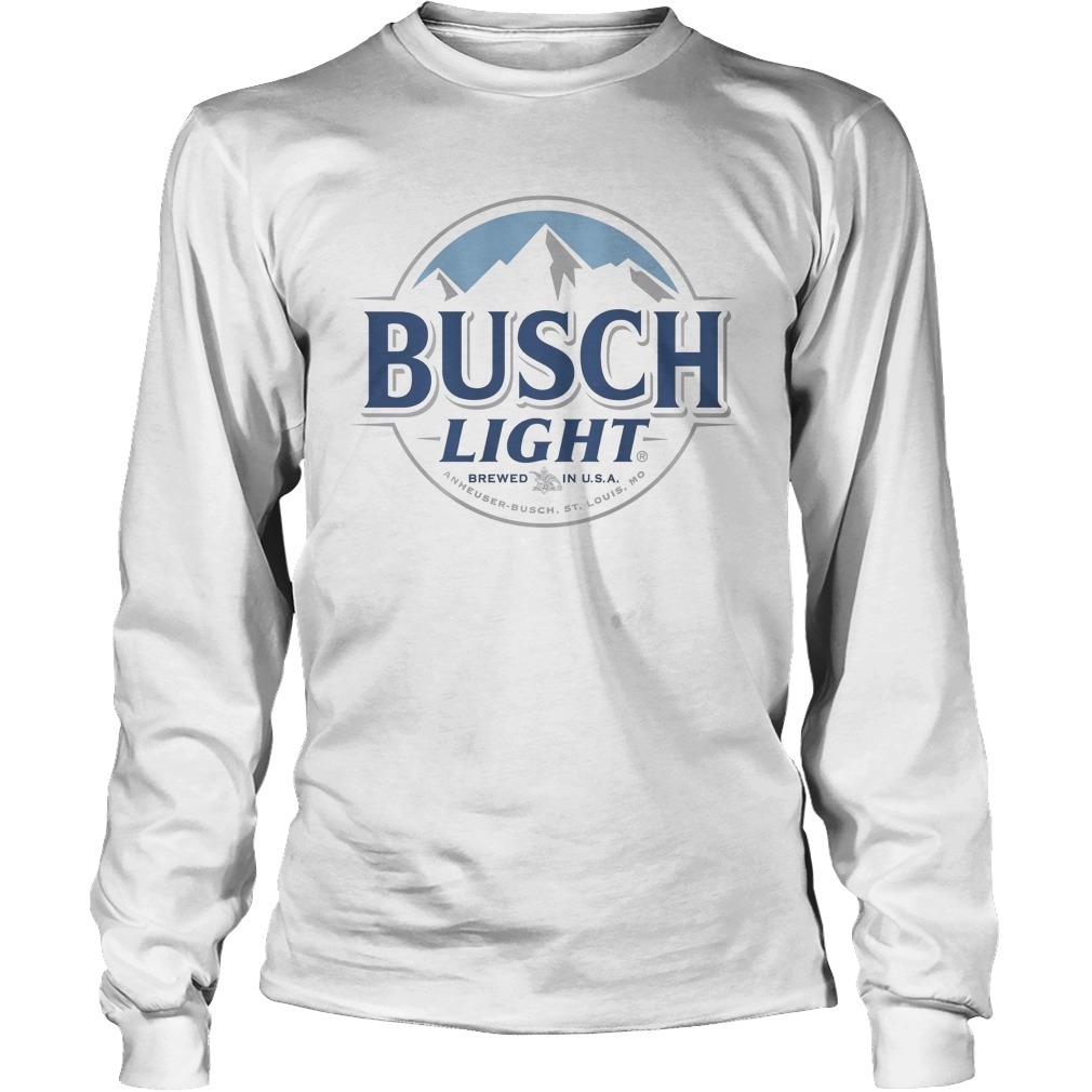 Busch Light Brewed In USA #toasttofarmers 2/15/2019 Longsleeve Tee